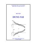 Bài tập Dung Sai