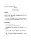 Giáo án Tiếng việt 4 tuần 22 bài: Con vịt xấu xí