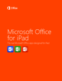 Microsoft Office for iPad - The real Microsoft Office apps designed for iPad