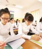 Đề cương ôn thi TN THPT môn Toán - Tổ Toán Tin Trường THPT Trần Phú