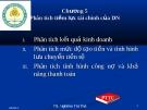 Bài giảng Tài chính doanh nghiệp: Chương 5 - TS. Nghiêm Thị Thà