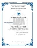 Tiểu luận: Phân tích dòng tiền & ứng dụng dụng phân tích dòng tiền Vinamilk