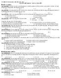 Tài liệu ôn thi Đại học cấp tốc 2012 - 2013: Chuyên đề Amino - axit lí thuyết và bài tập
