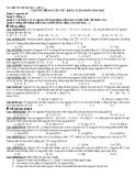 Tài liệu ôn thi Đại học - lớp A1: Chuyên đề nguyên tử - Bảng tuần hoàn hóa học