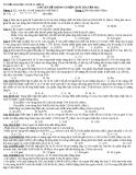 Tài liệu hóa học vô cơ 12 - Lớp A1: Chuyên đề nhôm và hợp chất bài tập (N1)