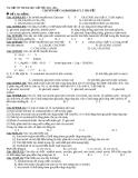 Tài liệu ôn thi Đại học cấp tốc 2012 - 2013: Chuyên đề Cacbohidrat lí thuyết và bài tập