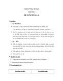 Giáo án Tiếng việt 4 tuần 21 bài: Bè xuôi sông La
