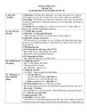 Giáo án Tiếng việt 4 tuần 22 bài: Luyện tập miêu tả các bộ phận của cây cối
