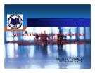 Thuyết trình: Kiệt quệ tài chính và quản trị rủi ro doanh nghiệp - Lý thuyết và bằng chứng thực nghiệm