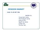 Thuyết trình: Pension market