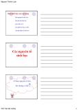 Bài giảng Sinh học đại cương: Chương 2 - GV. Nguyễn Thành Luân