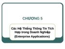 Bài giảng Hệ thống thông tin quản lý: Chương 5 - ThS. Thái Kim Phụng