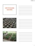 Bài giảng Phân tích và xử lý số liệu trong sinh học : Chương 2 - ThS. Nguyễn Thành Luân