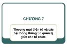 Bài giảng Hệ thống thông tin quản lý: Chương 7 - ThS. Thái Kim Phụng