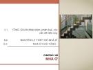 Bài giảng Kiến trúc dân dụng: Chương VIII - ThS. Kts Dương Minh Phát
