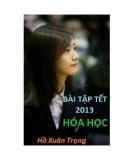Bài tập tết Hóa học 2013 - Hồ Xuân Trọng