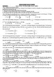 Chuyên đề ôn thi Đại học - Cao đẳng: Dòng điện xoay chiều