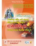 Cẩm nang hướng dẫn sử dụng dây và cáp điện CADIVI trong xây dựng nhà ở