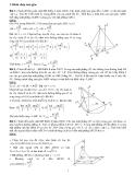 Luyện thi Đại học Toán hình học