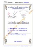 Hệ thống lý thuyết - bài tập chuyên đề luyện thi Đại học Vật lí - chuyên đề 7: Lượng tử ánh sáng