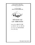 Sổ giáo án Lý thuyết Mô đun: Điện tử cơ bản - GV. Trần Duy Khánh