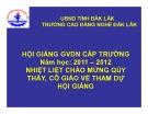 Bài giảng Bảo dưỡng hệ thống phân phối khí - CĐ Nghề Đắk Lắk