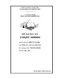 Sổ giáo án Thực hành Mô đun: Điện tử cơ bản - GV. Trần Duy Khánh