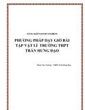 SKKN: Phương pháp dạy giờ bài tập Vật lí  trường THPT Trần Hưng Đạo