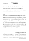 The Relationship Between Chinese Raw Dumpling Quality and Flour Characteristics of Shandong Winter Wheat Cultivars