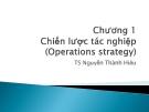 Bài giảng Quản trị tác nghiệp: Chương 1 - TS. Nguyễn Thành Hiếu