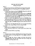 Bài tập kế toán thuế - ThS. Hoàng Thị Ngọc Nghiêm