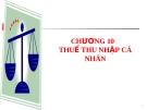 Bài giảng Thuế nhà nước: Chương 10 - ThS. Hoàng T.Ngọc Nghiêm