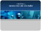 Bài giảng Quản trị sản xuất và tác nghiệp: Chương 2 - GV. Trương Thị Hương Xuân
