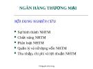 Bài giảng Thị trường tài chính: Chương 12 - TS. Nguyễn Vĩnh Hùng