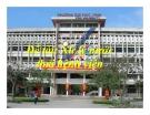 Báo cáo đề tài: Xử lý nước thải bệnh viện