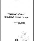 Giáo trình Toán rời rạc ứng dụng trong tin học: Phần 1 - NXB KH và KT Hà Nội
