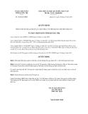 Quyết định 1826/QĐ-UBND năm 2013 tỉnh Quảng Trị