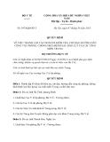 Quyết định 3974/QĐ-BYT năm 2013