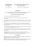 Quyết định 253/QĐ-UBND năm 2013