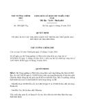 Quyết định 1981/QĐ-TTg năm 2013