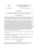 Văn bản hợp nhất 04/QĐHN-BYT năm 2013