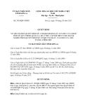Quyết định 2454/QĐ-UBND năm 2013 bãi bỏ Quyết định 1198/QĐ-UBND