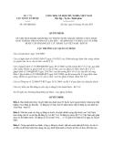 Quyết định 265/QĐ-QLD năm 2013