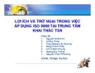 Tiểu luận: Lợi ích và trở ngại trong việc áp dụng ISO 9000 tại trung tâm khai thác TSN
