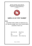 Khóa luận tốt nghiệp: Giải pháp tăng cường sự tham gia của các doanh nghiệp Việt Nam vào hệ thống Logistics toàn cầu (2010)