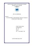 Bài tập cá nhân: Sự tương đồng và khác biệt giữa triết học nho gia và triết học đạo gia ở Trung Quốc thời cổ đại