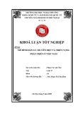 Khóa luận tốt nghiệp: Mô hình bán lẻ chuyên biệt và triển vọng phát triển tại Việt Nam