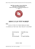 Khóa luận tốt nghiệp: Quản lý Công ty cổ phần theo quy định của pháp luật Việt Nam: Thực trạng và giải pháp