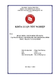Khóa luận tốt nghiệp: Hoạt động thẩm định tín dụng tại ngân hàng Viettinbank chi nhánh Ba Đình. Thực trạng và giải pháp