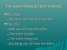 Bài giảng Mạng thông tin quốc tế: Chương 4 - GV. Trương Minh Hòa